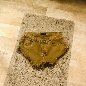 Mustard Seed Jean Shorts